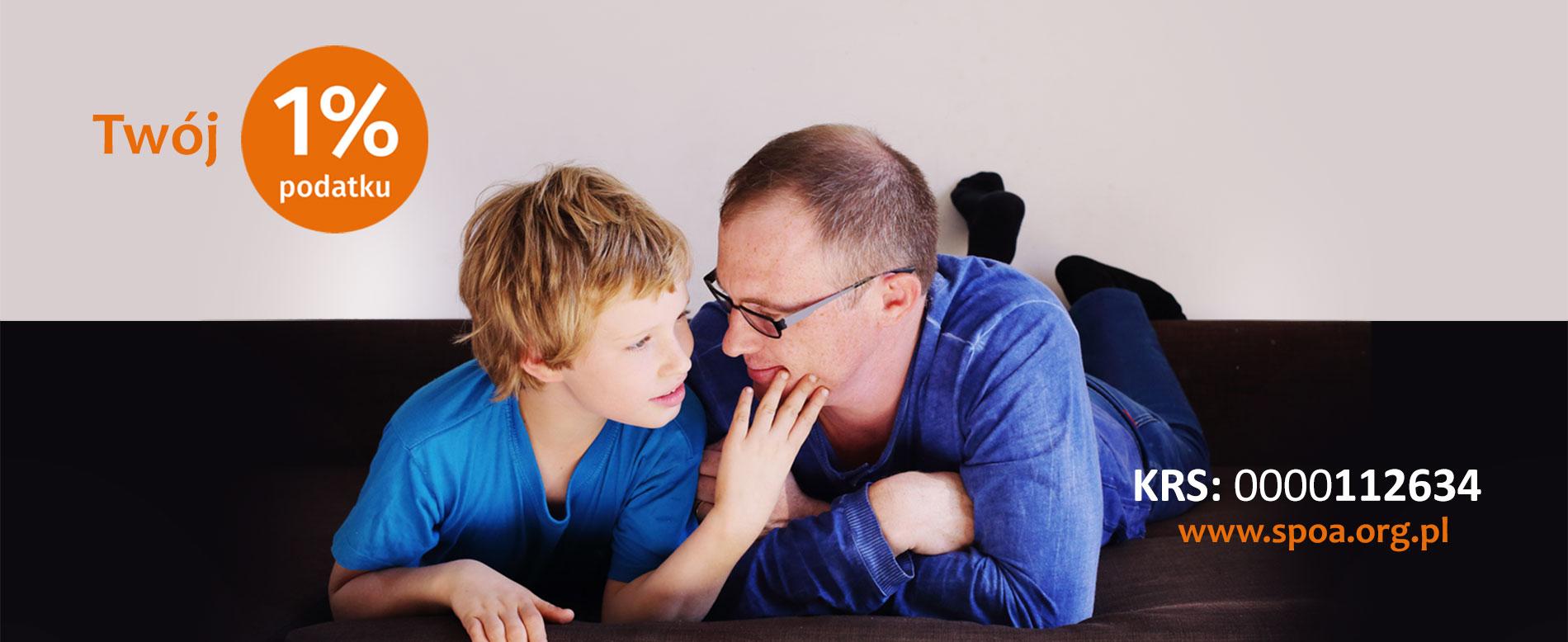 Dzięki Twojemu 1% pomagamy osobom z autyzmem i ich rodzinom